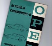 Opel Rekord D Håndbok